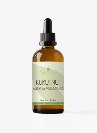unrefined kukui nut oil
