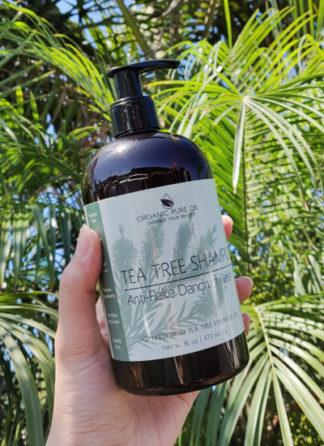 tea tree anti-flake shampoo