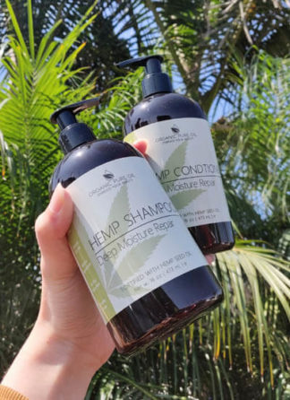 hemp hydrating shampoo and conditioner