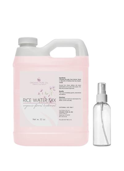 32 oz bulk refill of fermented rice water mixture opo organic pure oil
